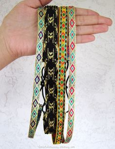 Indian Tribal Headbands. $4.50, via Etsy.