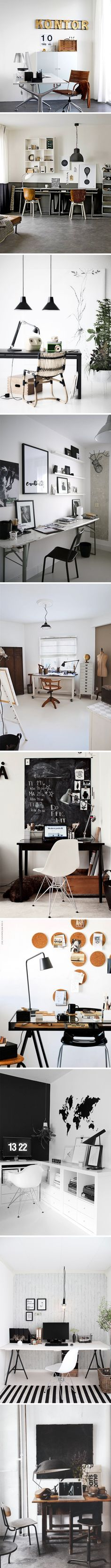 10 x gorgeous home offices