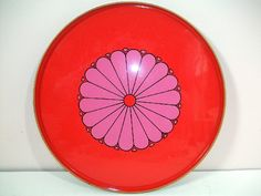 Vintage Mod Psychedelic 70's Serving Tray by VintageRescuer, $14.95