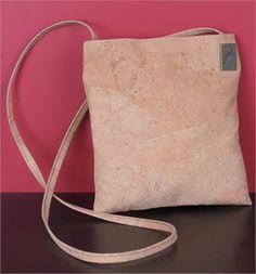 cork messenger bag (cork is naturally waterproof)