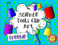 This delightful set of science tools will add beauty and value to your science products. Included are 7 images (pictured above) of common items found in a science lab. Enjoy this FREEBIE!  :)