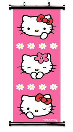 Hello Kitty scroll
