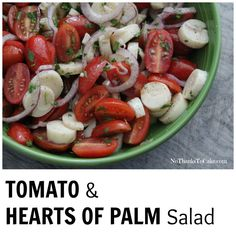 Tomato and Hearts of