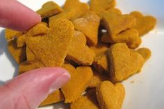 Wheat-Free Pumpkin & Peanut Butter Biscuits