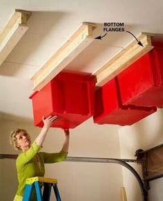 Storage idea – #home decor ideas #home design