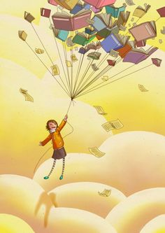 Books can carry you away!