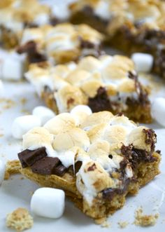 S'mores Bars - these are soooo good!