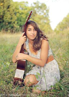 #photo #guitar #senior #pictures