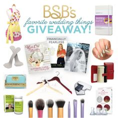 The Budget Savvy Bride Favorite Things Giveaway!