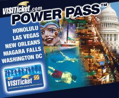 Power Pass attraction passes! See more, pay less, have fun!