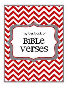 A dozen simple ones with simple graphic. I like it. They can create their own book if I give them one after each lesson.  <3  Bible verses for kids ~ downloadable