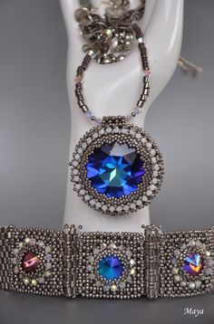 Wonderful Beaded Jewelry Creations by Maya featured in Bead-Patterns.com Newsletter!