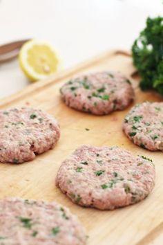 Mediterranean Spa Turkey Burgers by Fraiche Nutrition