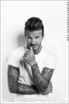 tattooed male models, hottest male celebrities, hottest celebrity men, male sleeve tattoos, david bekham