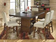 Max Furniture 7pc Hienzo Pub Dining Room Set http://www.maxfurniture.com/detail-GameMedia-Pub-Sets--Bars-7pc-Hienzo-Pub-Dining-Room-Set-63-45392.aspx