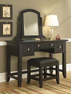 mirror, bench, bedroom furniture, vanities, vaniti tabl