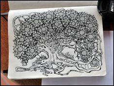 Sketchbook by Irina Vinnik, via Behance