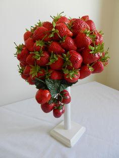 Raymond Hudd hat of strawberries