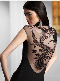 The Dragon Dress – Ralph Lauren
