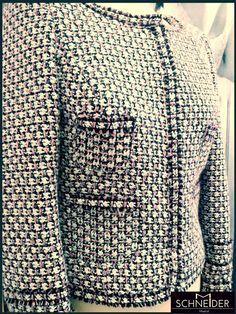 chaqueta tipo Chanel