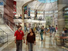 Cal U students can catch a movie, shop at the bookstore, or eat in one of the many restaurants inside the student center. The student center also houses a credit union, campus TV studio and newspaper offices, and a Commuter Center. Natali is currently undergoing renovations to expand and improve its services to students.