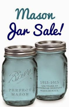 Obsessed with these gorgeous Mason Jars. I put salads and smoothies in them and use them for pretty storage. -