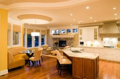 Kitchen Design Ideas - tips and designs including lighting and color choices