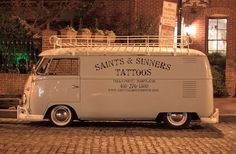 VW T1 Bus in Fells Point by northernlightphotograph, via Flickr