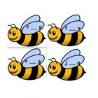 Busy Buzzy Bees is a great game to reinforce short vowels and cvc words. There is a direction page and 8 pages of bees. That's 32 bee cards! I us...