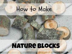 How to Make Nature Blocks