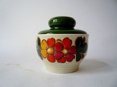 Vintage Sugar Bowl from Winterling Bavaria by oppning on Etsy, €14.00