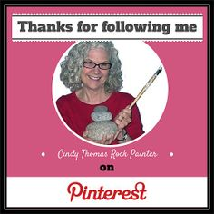 YOU ROCK!! I want to thank all of my Pinterest followers. I appreciate each and everyone of you.