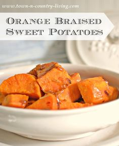 Orange Braised Sweet
