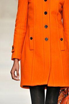 Orange Winter Coat <3