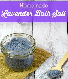 Homemade Lavender Ba