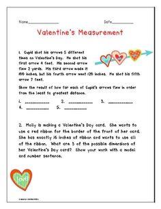Valentine's Measurement FREE