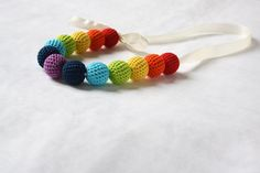 Crochet Beaded Necklace - DIY Craft Project Instructions