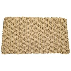 Cape Cod Mocha Chip Doormat Size - Deck Doormat-40L x 22W inches by Cape Cod Doormats. $76.99. Reversible. Choice of sizes. Quick-drying and stain-resistant. Tan and brown, 100% polypropylene. Traps dirt, sand, and snow. The brown specs of the Cape Cod Mocha Chip Doormat add color and texture to the tan background. Made of durable polypropylene, this doormat is stain-resistant and quick-drying, making it ideal for any home. The choice of sizes accommodates all styles of por...