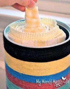 DIY Cloth Paper Towels!