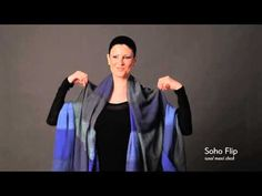 ▶ How to Tie a Scarf: EILEEN FISHER Tips - Resort 2012 - YouTube