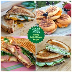Ham, Apple and Brie Panini | 20 Tempting Grilled Cheese Sandwiches