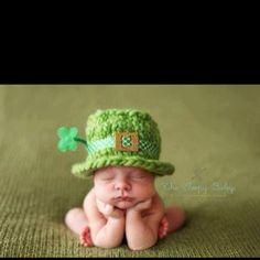 St Patrick's day baby