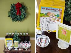 What a fun idea!  Host a Gingerbread Party Play Date!