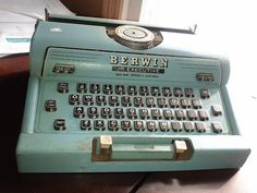 Berwin Jr. Executive Typewriter -- old children's toy from 1960!