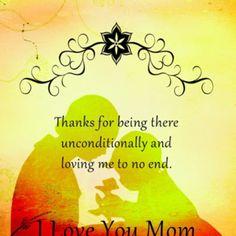 Love you mom!  ♥