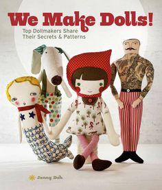we make dolls// book.