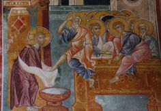 Foot Washing Fresco