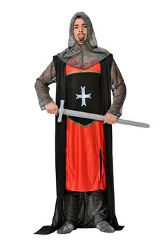 Disfraz económico de cruzado #medieval