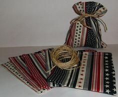 sewn favor bag