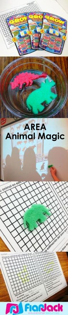 "Remember ""magic capsules?"" Here's a fun activity we did recently that uses magic capsules to practice calculating the area using centimeter squared graphing paper. Freebie recording sheet included."